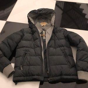 Add Boys sz12 charcoal puffer jacket